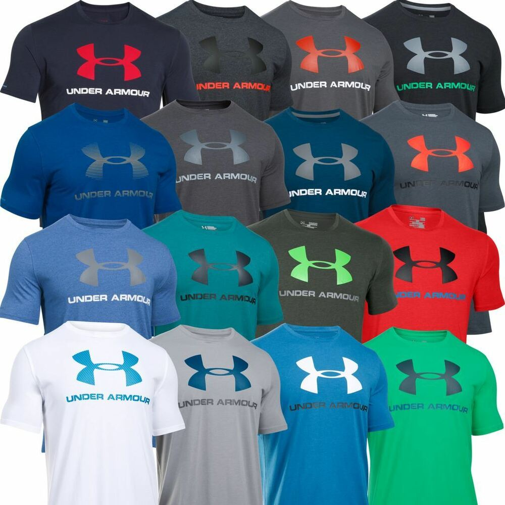 Under armour 2017 mens charged cotton sportstyle logo tee for Under armour i will shirt