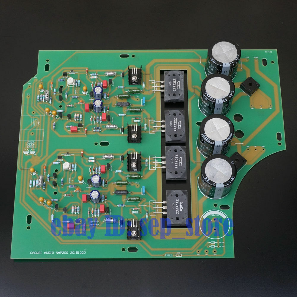 assembled black box clone naim nap200 amplifier board diy amp 75w 75w ebay. Black Bedroom Furniture Sets. Home Design Ideas