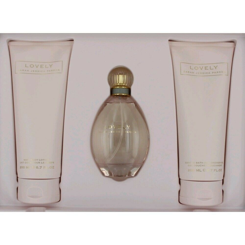 Lovely Perfume by Sarah Jessica Parker, 3 Piece Gift Set ...
