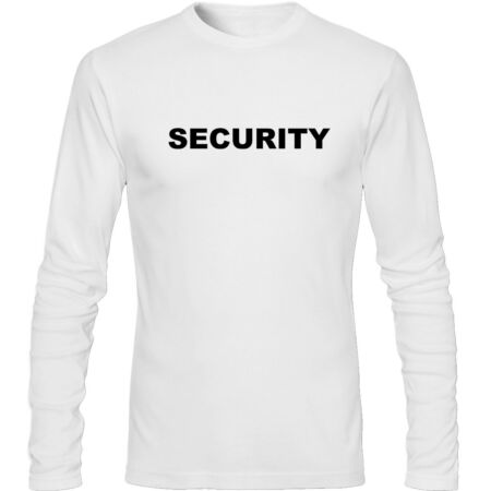 img-Security Men's Long Sleeve T Shirt Funny Humour
