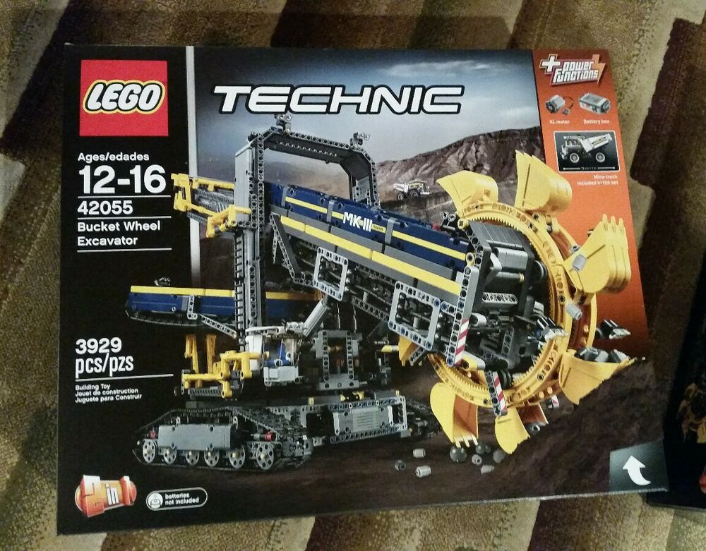 lego technic 42055 bucket wheel excavator building kit. Black Bedroom Furniture Sets. Home Design Ideas