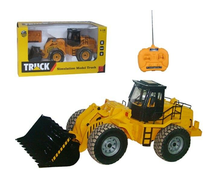 Large Toy Trucks For Boys : Large function rc digger truck boy jcb construction