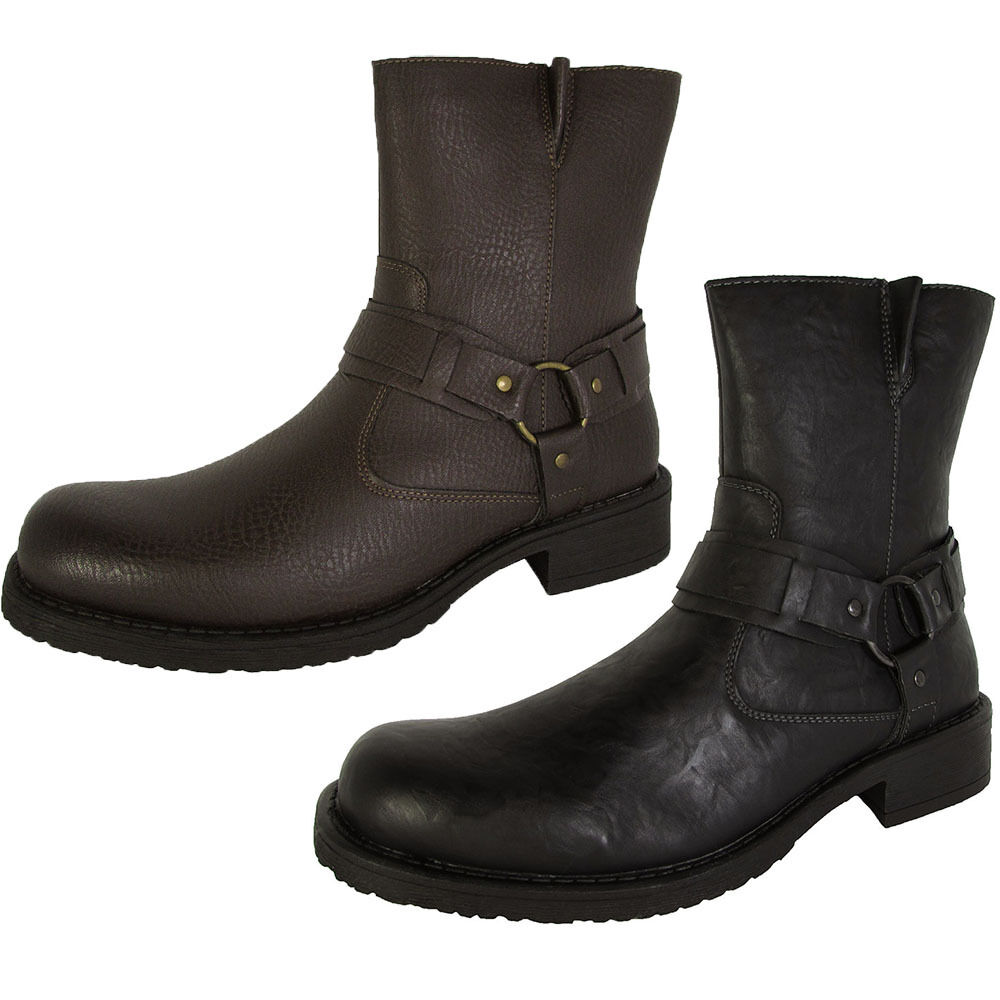 resolve by robert wayne mens griff harness boot shoes ebay