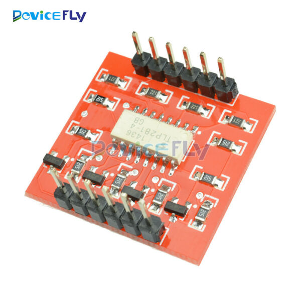 4-Channel Opto-isolator IC Module High &Low level Expansion Board Arduino TLP281