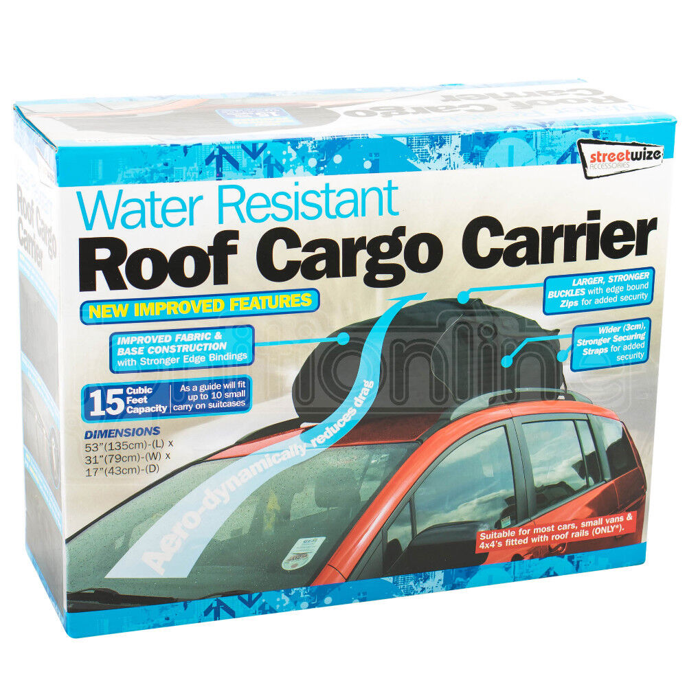 458l Water Resistant Roof Cargo Carrier Bag Car Amp Van Box