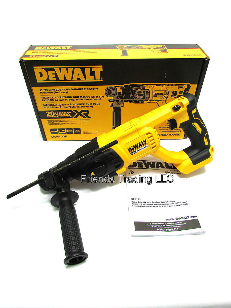 Dewalt 20v cordless brushless motor 1 sds plus rotay for Dewalt 20v brushless motor