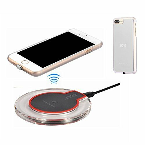 iphone 7 plus qi wireless charger apple charging pad. Black Bedroom Furniture Sets. Home Design Ideas