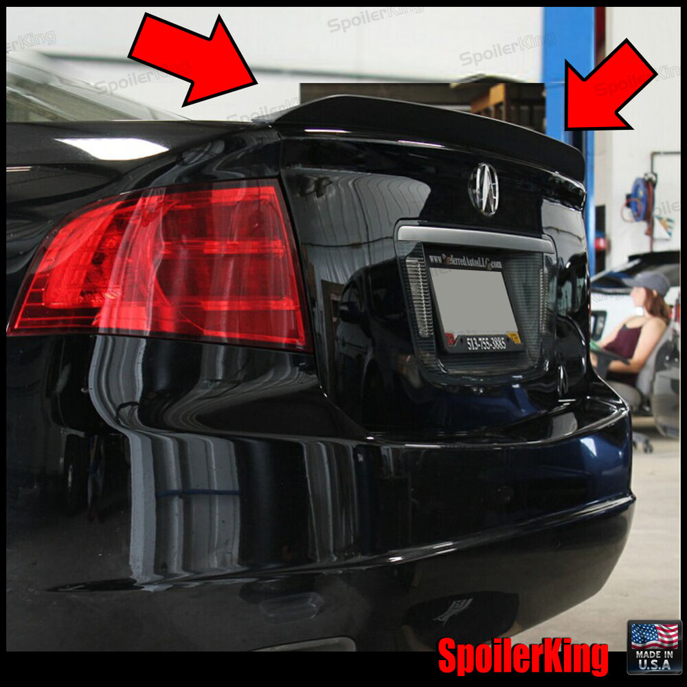 Painted 2004 2008 For Acura Tl Trunk Lip Spoiler Satin: SPK 284G Fits: Acura TL 2004-2008 Rear Trunk Lip Spoiler