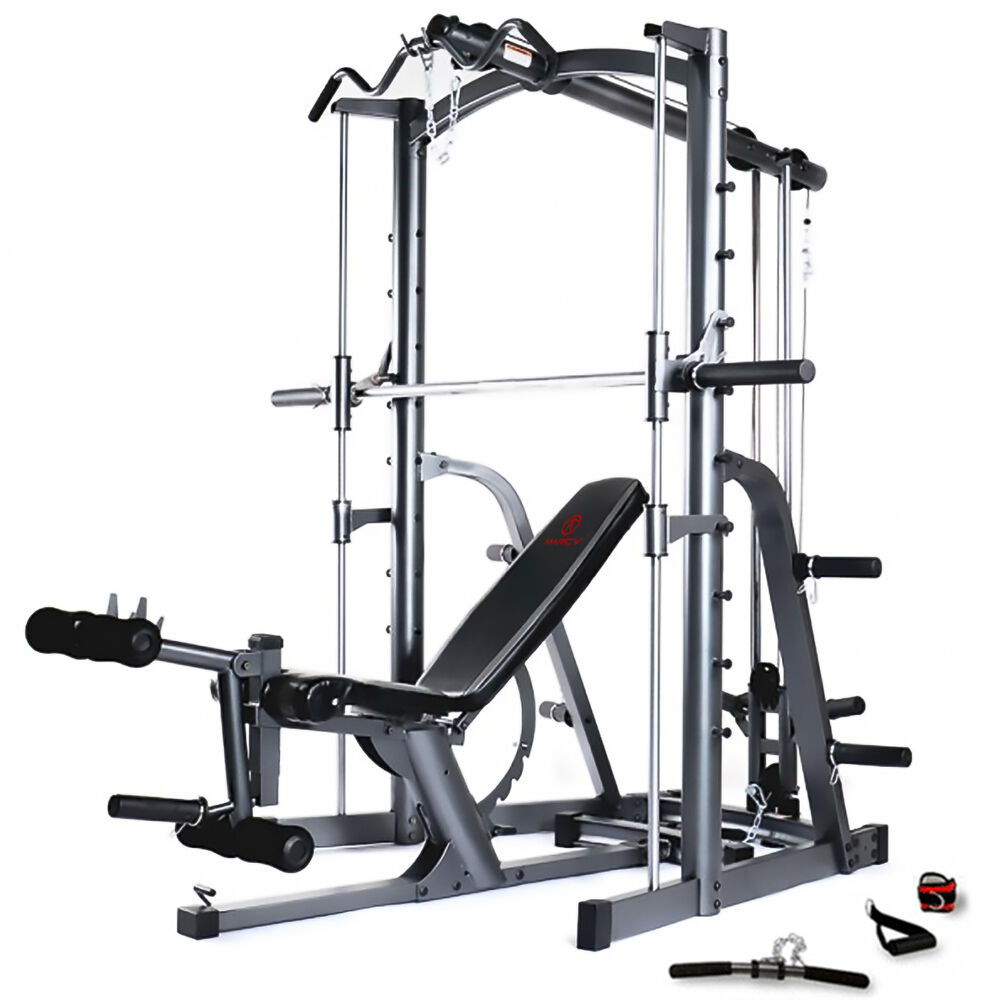 Marcy mwb smith machine press home multi gym with