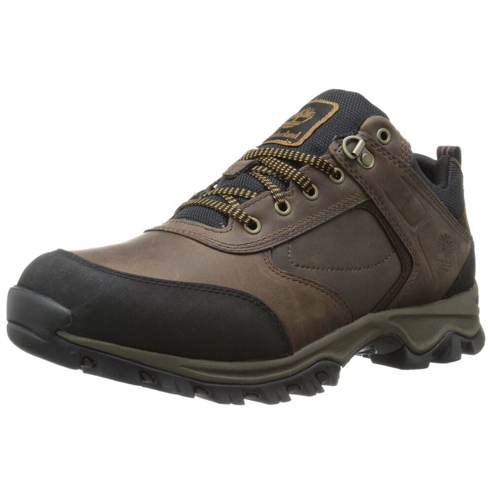 Timberland Men Athletic Shoes Mt. Maddsen Low Hiking Shoes Brown | EBay