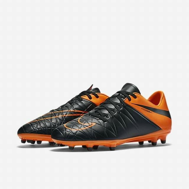 0dfd38883dc3 Details about Nike Hypervenom Phelon II TC FG Black Total Orange soccer  firm ground 807515-008