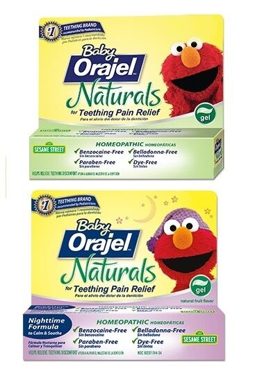 Exp 7 17 Or Later Baby Orajel Naturals Daytime Nighttime