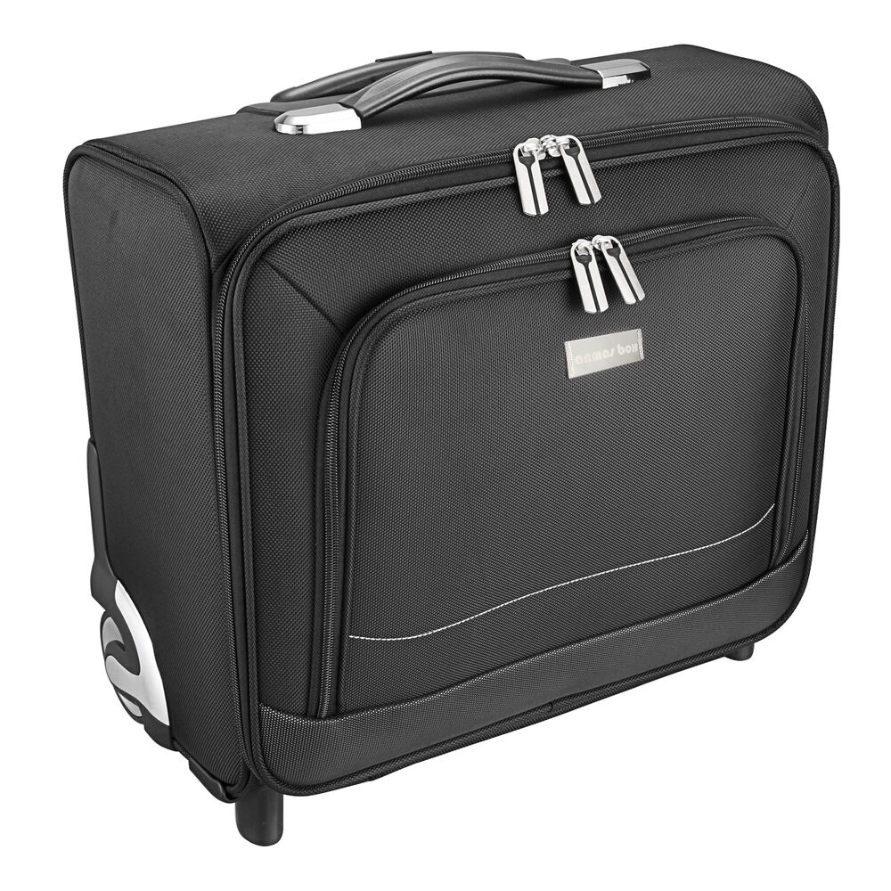 2 wheel spinner 16 laptop trolley case cabin bag business for Laptop cabin bag