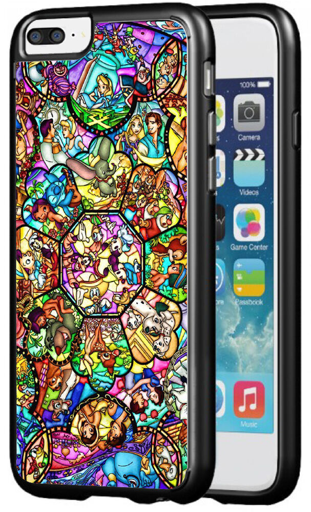 Disney Stained Glass Phone Case for iPhone 7 & iPhone 7 ...