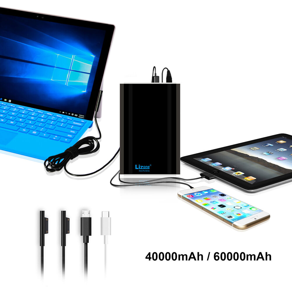 Lizone Portable Charger External Battery Power Bank For