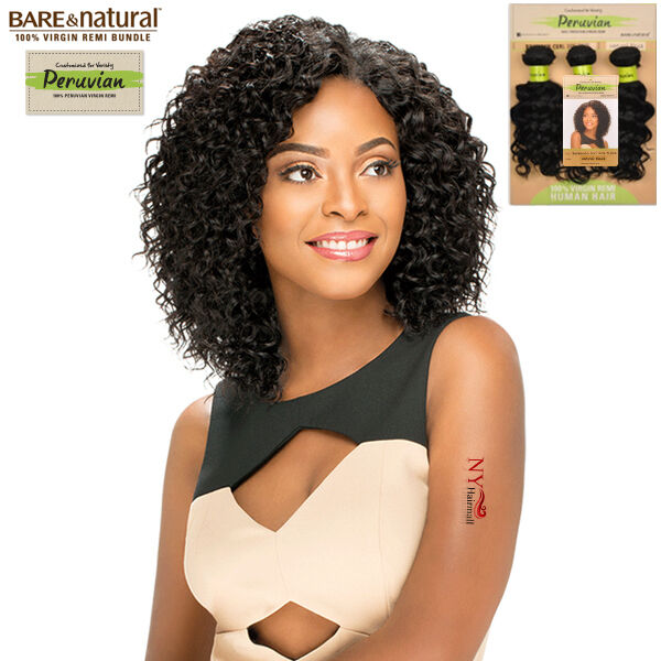 Sensationnel Peruvian Remi Bundle Hair Bare Amp Natural