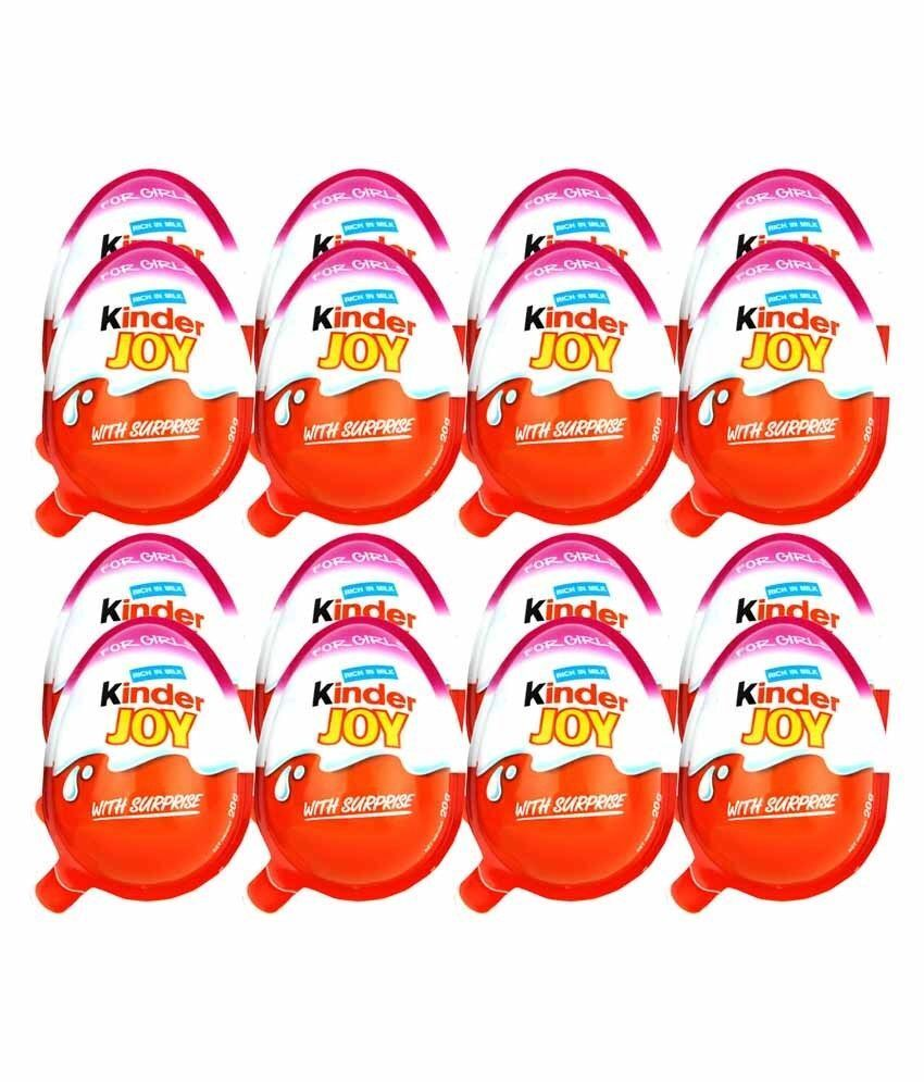 Kinder JOY Surprise Eggs Ferrero Choclate Balls Best Gift ...