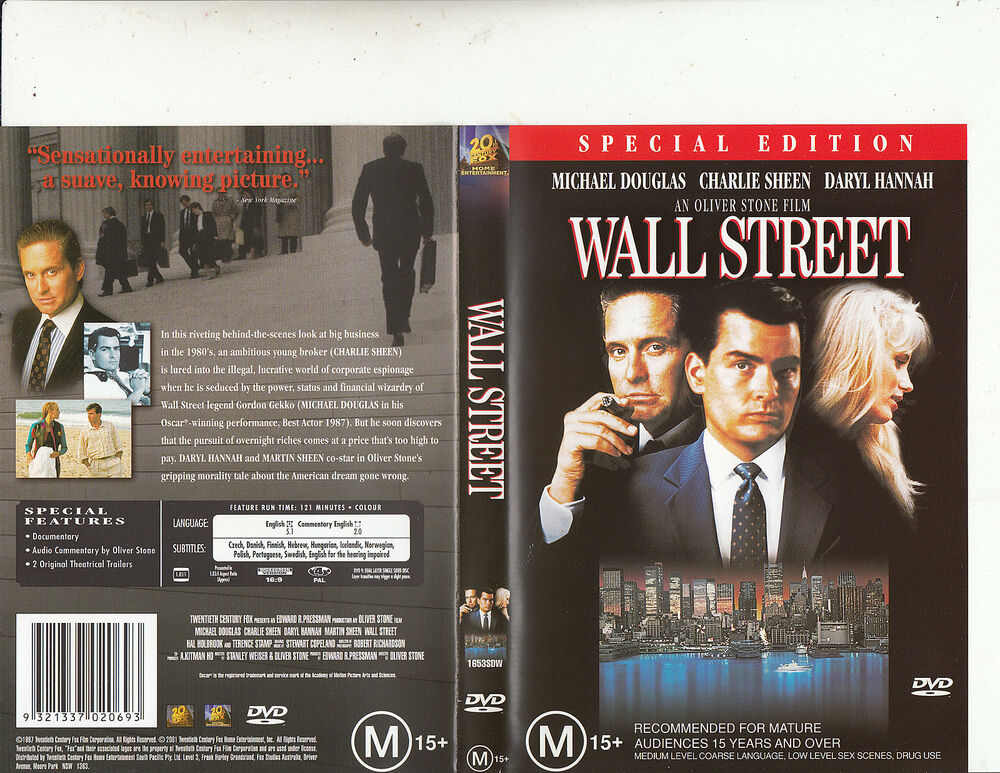 "wall street 1987 movie essay But just as the stock market itself seems to exist primarily for upper-class new  yorkers, ""wall street"" the movie favors those with prior knowledge of corporate."