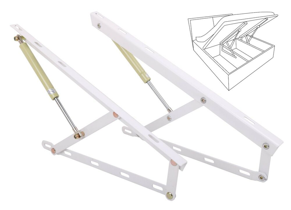 Hydraulic Bed Lift : Hydraulic bed lift mechanisms for box storage space