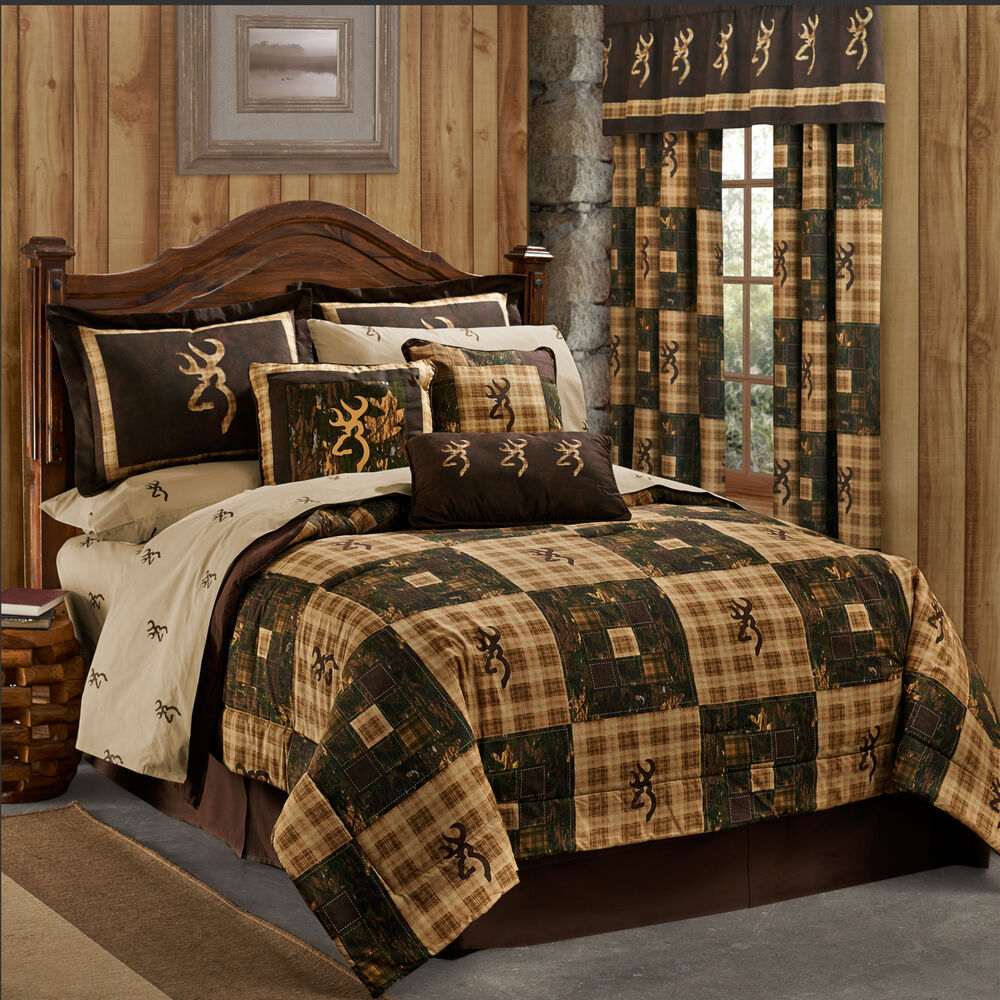 New Browning 174 Country Quilt Bedding Comforter Set Or Bed