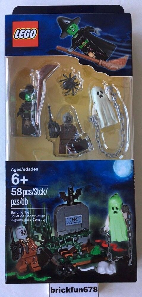LEGO 850487 Halloween Accessory Set Monster Ghost Witch ...