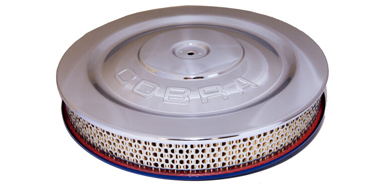 Falcon Air Cleaner : Hipo air cleaner shelby cobra logo mustang