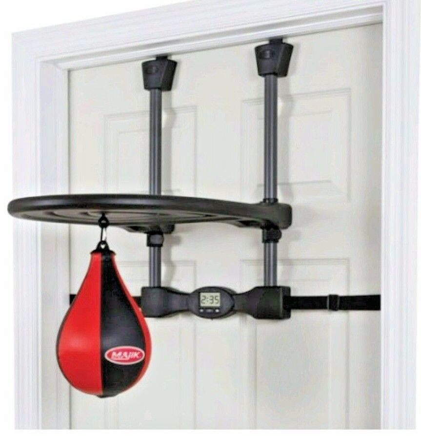 Home Gym Heavy Bag: Door Speed Boxing Bag Gear Trainer Home Gym Standing