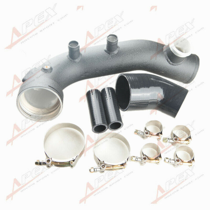 Supercharger Kits For Bmw 335i: Intake Turbo Charge Pipe Cooling Kit For BMW N54 E88 E90