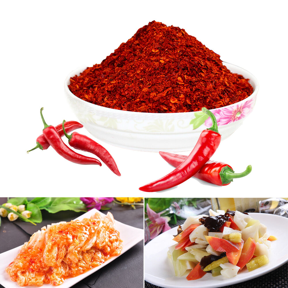 Korean Dried Red Extra Hot Pepper Kimchi Spicy Chili ...