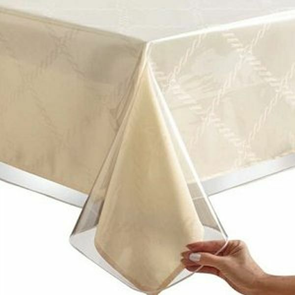 Clear Plastic Kitchen Table Cover