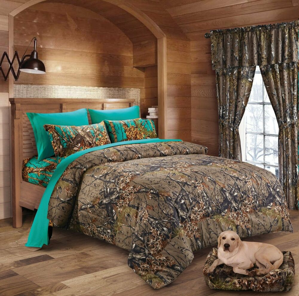 Camo Bed Sheet Set