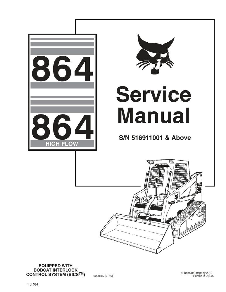bobcat manuals for free