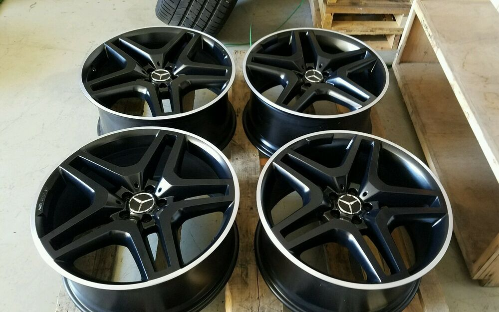 21 mercedes benz gls gl gls550 gl550 gl63 amg oem wheels for Mercedes benz factory rims