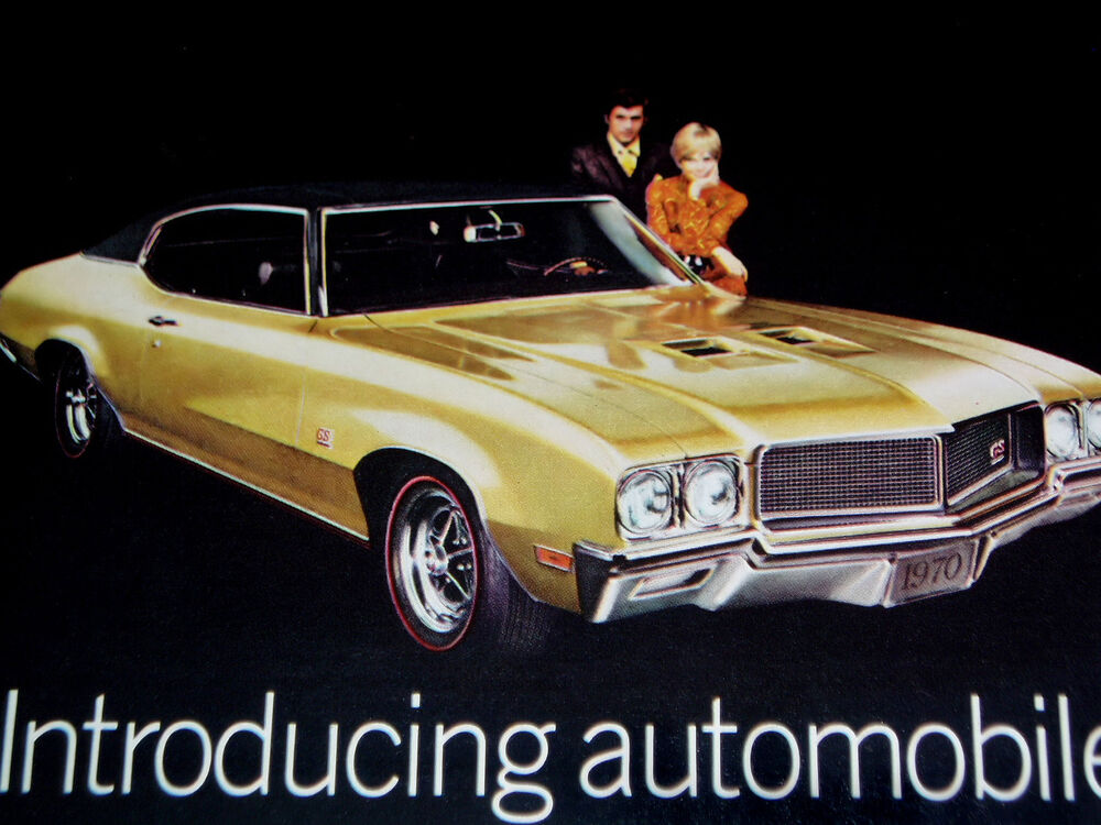 1970 BUICK GS 455 STAGE 1 SKYLARK PRINT AD-poster/photo ...