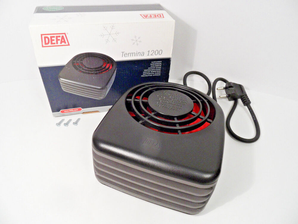 universal interior heater 1200w defa 430012 car bus truck tractor marine boat ebay. Black Bedroom Furniture Sets. Home Design Ideas