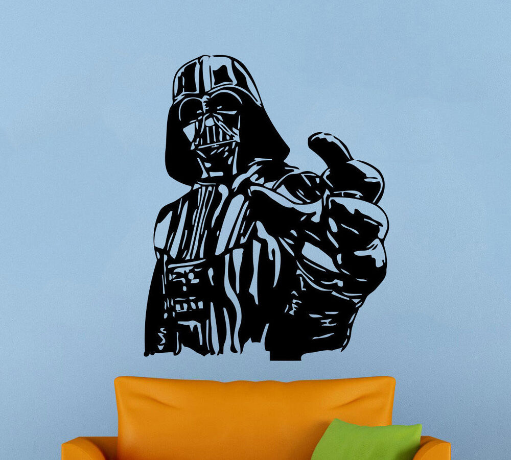 Darth vader wall decal star wars universe vinyl sticker atr wall darth vader wall decal star wars universe vinyl sticker atr wall mural decor 15s ebay amipublicfo Gallery
