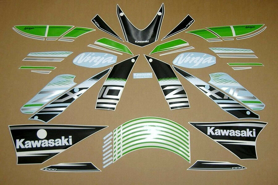Zx10r Ninja 2016 Full Decal Sticker Graphics Kit Set