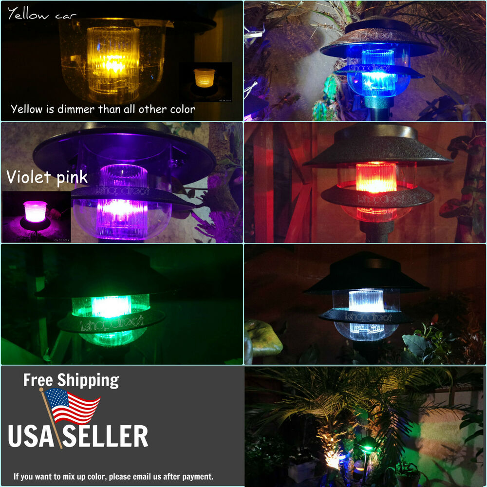 10x Multi Color T5 T10 5050 5smd Low Voltage For Malibu