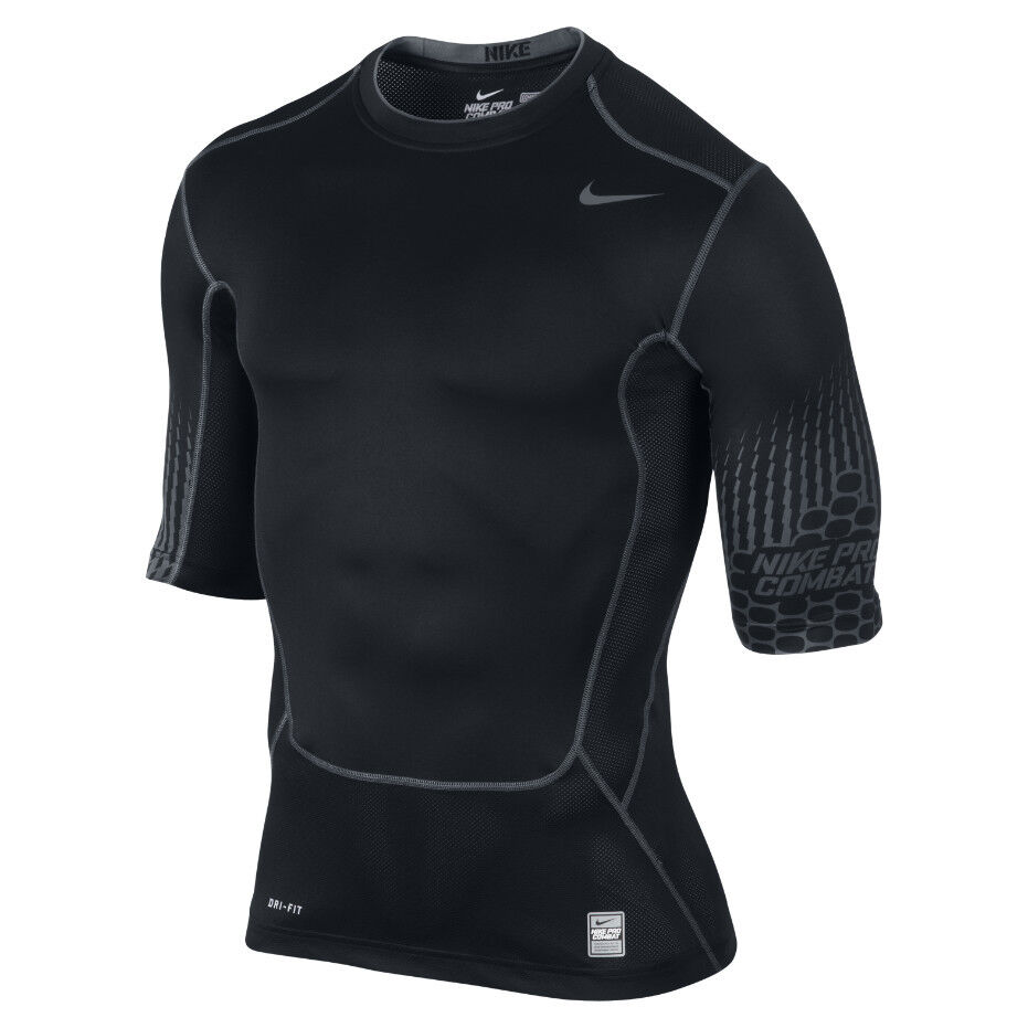 new nike men 39 s pro combat compression 1 2 sleevetraining. Black Bedroom Furniture Sets. Home Design Ideas