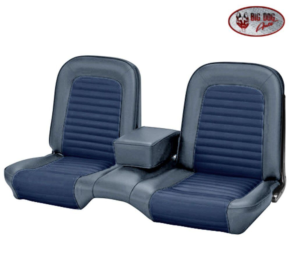 Ford Bench Seat Upholstery ~ Ford mustang blue front bench seat upholstery made in