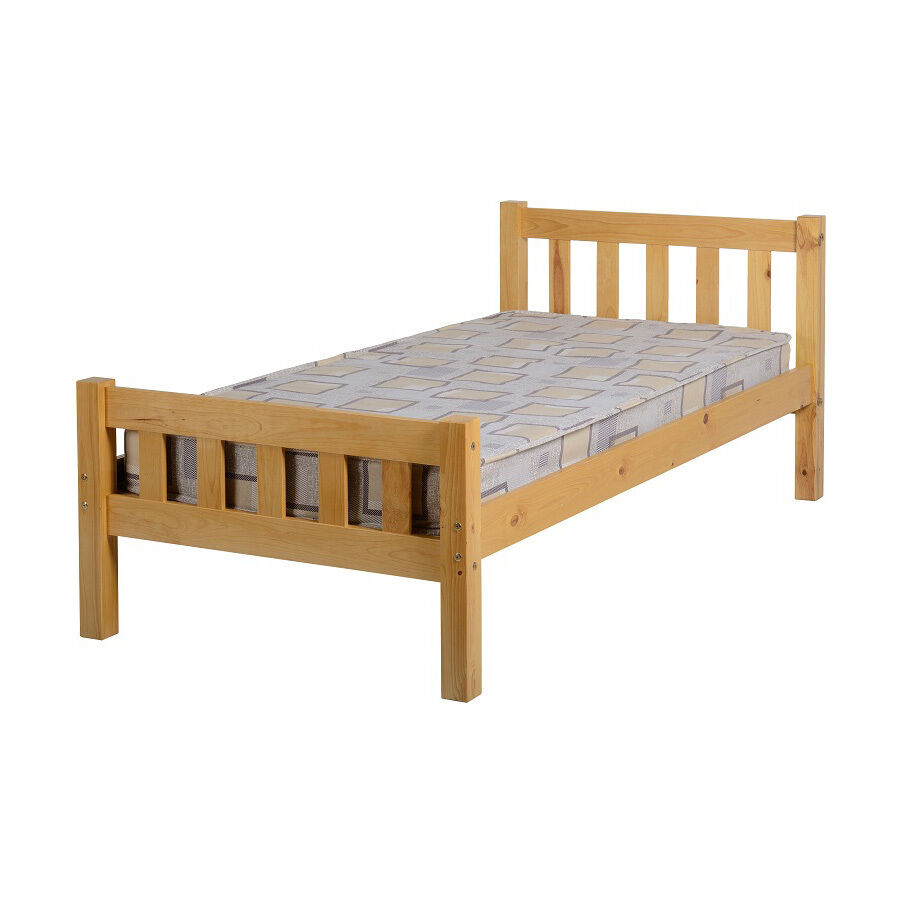 Carlow Bed Frame Single 3ft Antique Pine Wooden