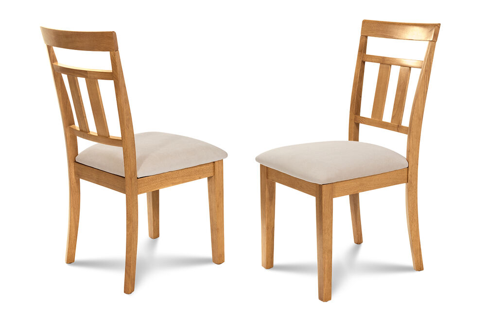 Upholstered Oak Kitchen Chairs