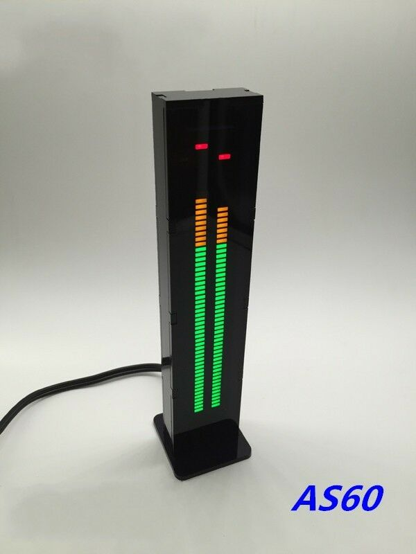 Digital Vu Meter : Led digital level meter audio display spectrum