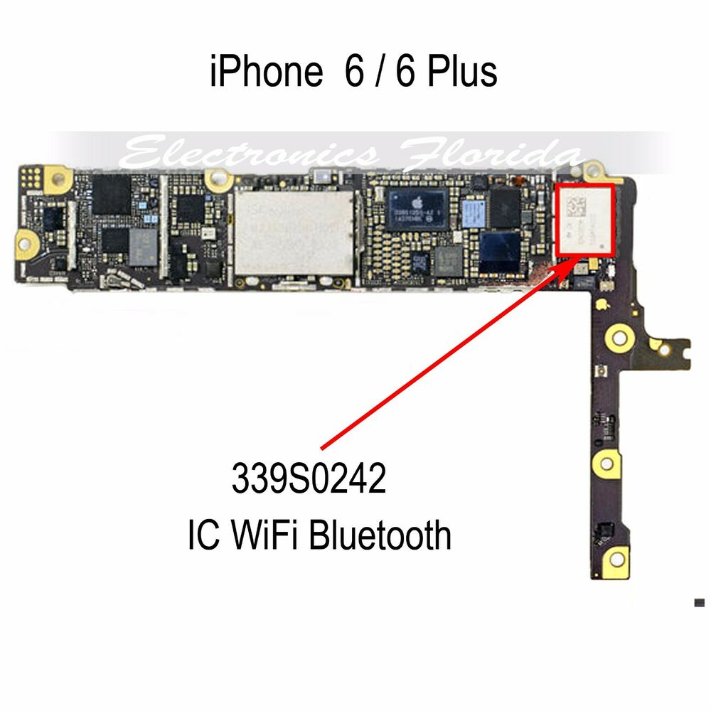 iphone bluetooth not working wifi bluetooth ic 339s0242 part replacement for iphone 6 15195