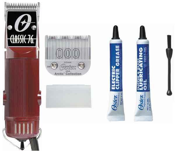 Oster Classic 76 Hair Trimmer Clipper With Size 000 & Size