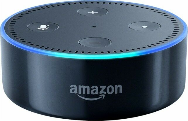 amazon echo dot 2nd generation with alexa black new