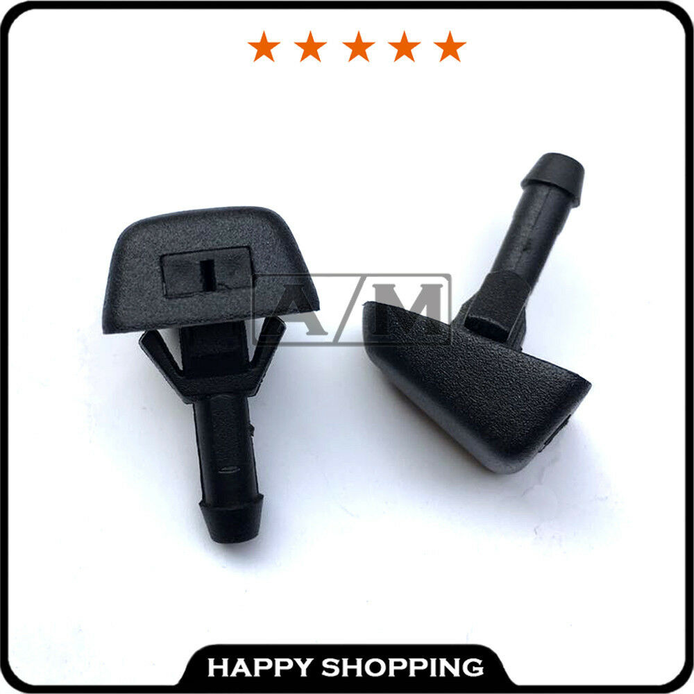 2 Windshield Washer Nozzle Squirter Jet For Volvo 1998
