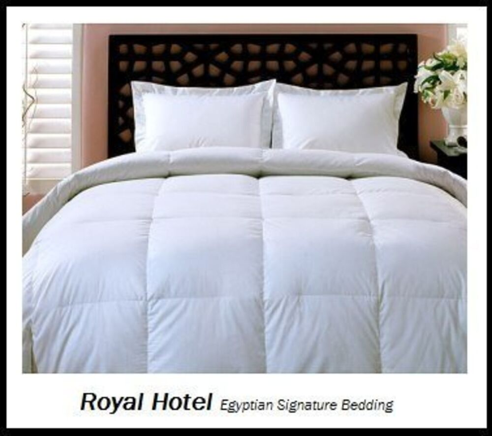 King Size Down Comforter Duvet Insert Bedding Bed Luxury