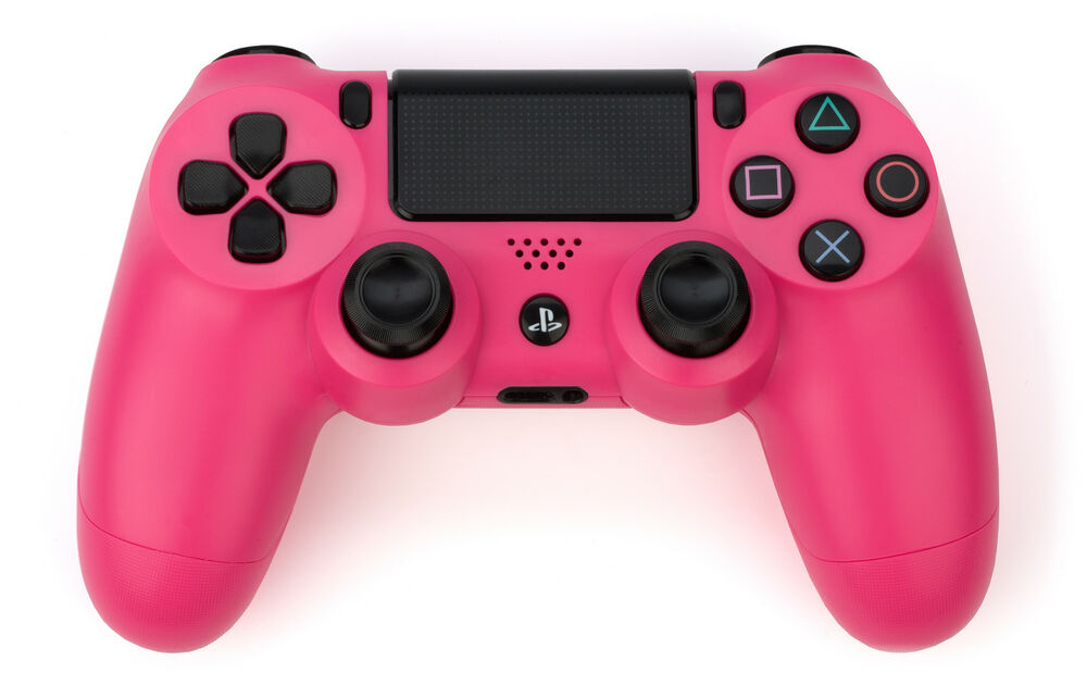 Game Controllers For Ps4 : Tnti t custom pink official playstation dualshock