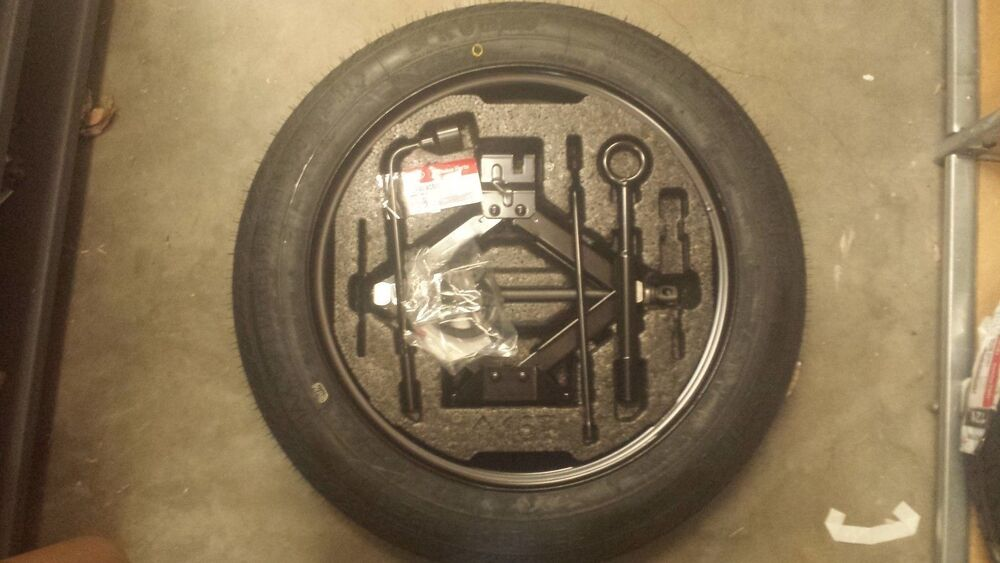 Genuine 2015 Kia Soul Spare Tire Kit Oem For Souls With 18